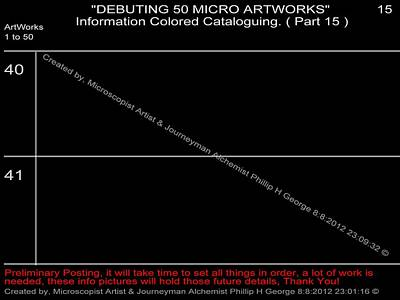 Digital Art - Debuting 50 Micro Artworks Part 15  by Phillip H George