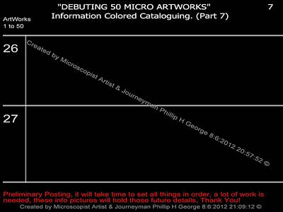 Digital Art - Debuting 50 Micro Artworks Part 7  by Phillip H George