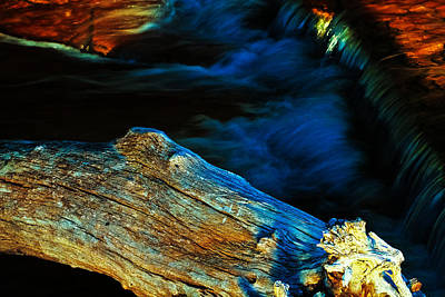 Rapids Photograph - Decay by Joshua Dwyer