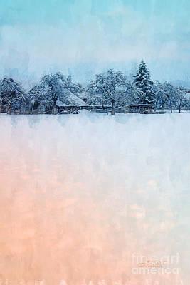 Photograph - December Snow by Jutta Maria Pusl