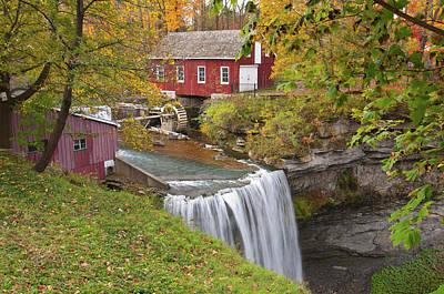 Photograph - Decew Waterfall  by Guy Whiteley