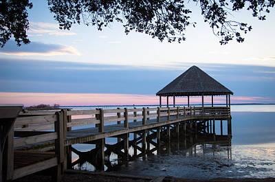 Photograph - Deck At Sunrise by Joye Ardyn Durham