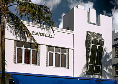 Photograph - Deco Walk Hotel. Miami. Fl. Usa by Juan Carlos Ferro Duque