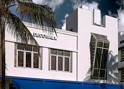 Photograph - Deco Walk Hotel. Miami. Fl. Usa by Juan Carlos Ferro Duque