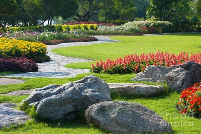 Decoration In Park Original