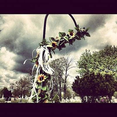 #decorative #decoration #cemetery Art Print