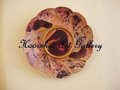 Decoupage Painting - Decoupage by Ameneh Anoosheh