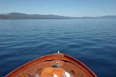 North America Photograph - Deep Blue Lake Tahoe by LeeAnn McLaneGoetz McLaneGoetzStudioLLCcom
