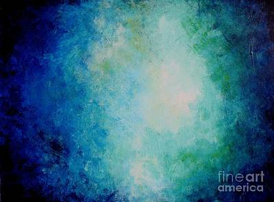 Painting - Deep Blue Sea by Michael Grubb