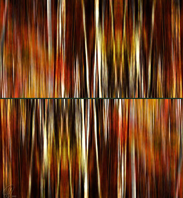 Digital Art - Deep In The Forest by Margaret Hormann Bfa