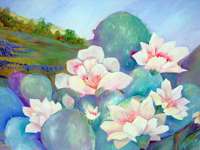 Painting - Deep In The Heart Of Texas by AnnE Dentler