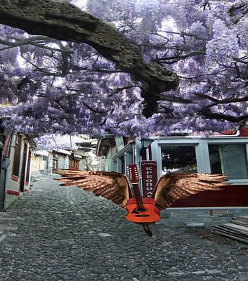 Digital Art - Deep Purple by Eric Kempson