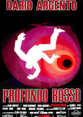 Horror Movies Photograph - Deep Red, Aka Profondo Rosso, Italian by Everett