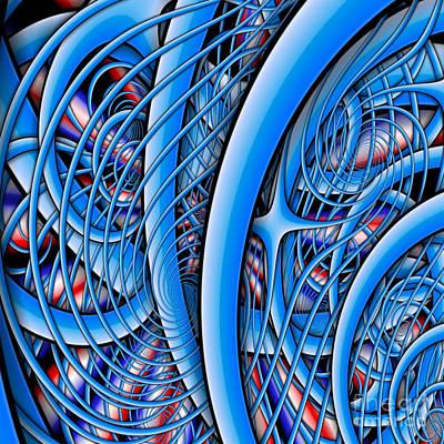Digital Art - Deep Sea Monster by Clayton Bruster