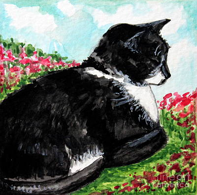 Painting - Deep Thoughts  by Elizabeth Robinette Tyndall