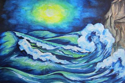 Deep Water - Wcs Art Print