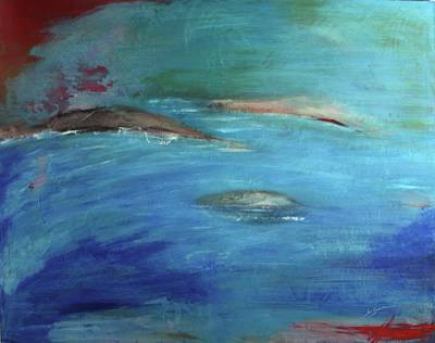 Painting - Deep Waters by Jan Swaren