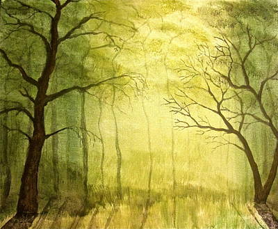 Painting - Deep Woods by Heather Matthews