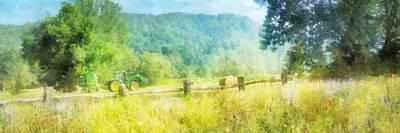 Digital Art - Deere In A Field by Francesa Miller