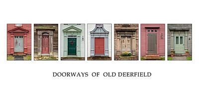 Photograph - Deerfield Doorways by Fred LeBlanc