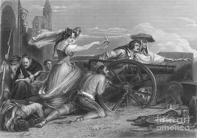 Defense Of Saragossa, 1808 Art Print