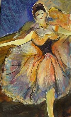 Dancer Mixed Media - Degas My Way by Therese Fowler-Bailey