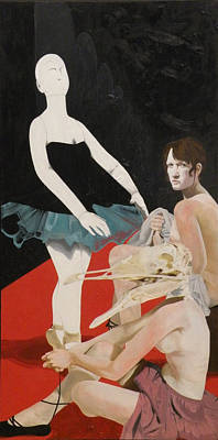Disorder Painting - Degas Never Knew Me by Ruth Poor