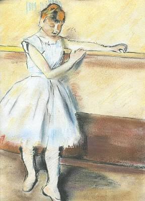 Degas's Ballerina Art Print by Amanda Faries