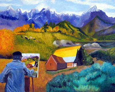 Painting - Deja View by Brent  Harris