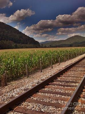 Art Print featuring the photograph Del Rio Tennessee by Janice Spivey