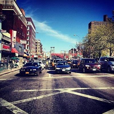 Delancey Street - Lower East Side - New York City Art Print