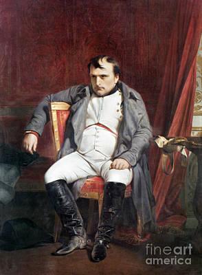 Photograph - Delaroche: Napoleon, 1814 by Granger