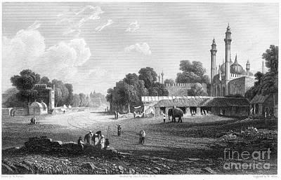 Raj Photograph - Delhi: Palace by Granger
