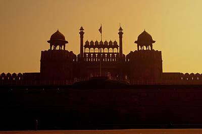 Delhi Red Fort Art Print by Benjamin Matthijs