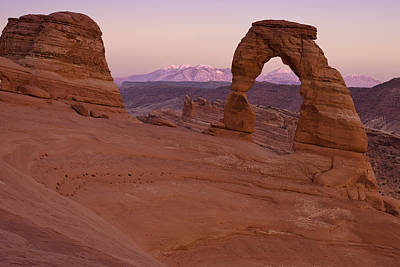 Delicate Arch Photograph - Delicate Arch by Andrew Soundarajan