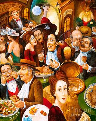 Painting - Delicatessen by Igor Postash