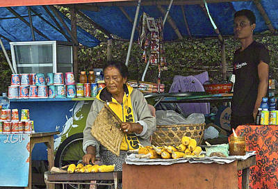 Photograph - Delicious Corn - Bali by Jocelyn Kahawai