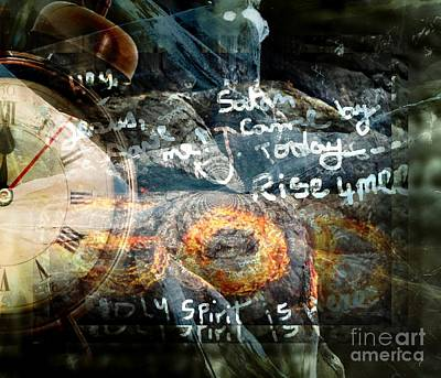 Deliverance In God's Time Art Print by Fania Simon