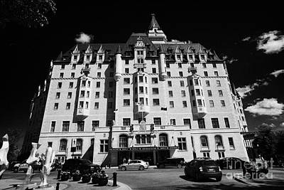 delta bessborough hotel downtown Saskatoon Saskatchewan Canada Art Print by Joe Fox