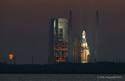 Photograph - Delta Iv by Mike Fitzgerald