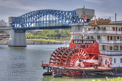 Photograph - Delta Queen by David Troxel