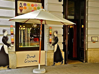 Photograph - Demel Eiscreme Shop by Kirsten Giving