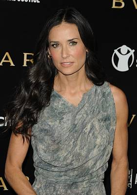 Demi Moore Photograph - Demi Moore At Arrivals For Bvlgari Save by Everett
