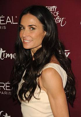 Demi Moore Photograph - Demi Moore At Arrivals For Varietys 3rd by Everett