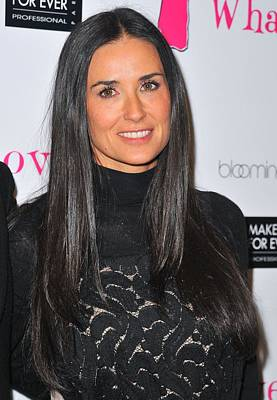 Demi Moore Photograph - Demi Moore At The After-party For Love by Everett