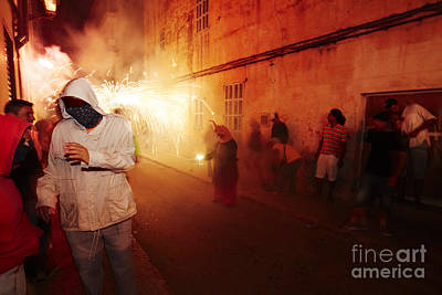 Photograph - Demons In The Street by Agusti Pardo Rossello