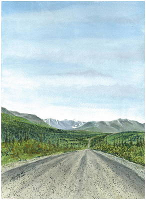 Painting - Denali Highway - A View Of Infinity by Joel Deutsch