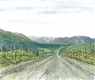 Painting - Denali Highway by Joel Deutsch