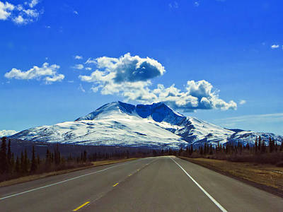 Photograph - Denali Highway by Rick Berk