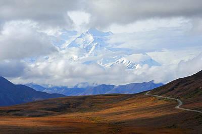 Photograph - Denali Highway To Heaven by Alan Lenk